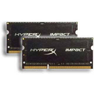 16GB HyperX Impact DDR3-1866 SO-DIMM CL11 Dual Kit