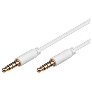 1.00m Good Connections Audio Anschlusskabel 3.5mm Klinke Stecker