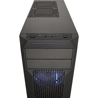 Corsair Carbide SPEC-02 LED blau mit Sichtfenster Midi Tower ohne