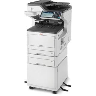 OKI MC853dnct Farblaser Drucken/Scannen/Kopieren/Faxen LAN/USB 2.0/2x