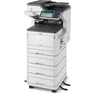 OKI MC853dnv Farblaser Drucken/Scannen/Kopieren/Faxen LAN/USB 2.0/2x