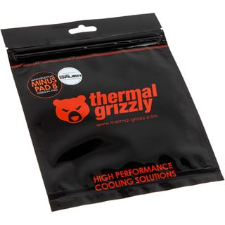 (€492,50*/100g) Thermal Grizzly 2x Minus Pad 8 120x20x0,5mm