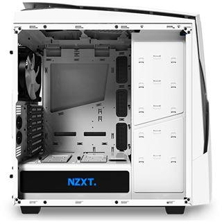 NZXT Noctis 450 mit Sichtfenster Midi Tower ohne Netzteil weiss/blau