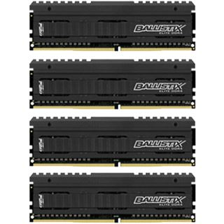 16GB Crucial Ballistix DDR4-2666 DIMM CL16 Quad Kit