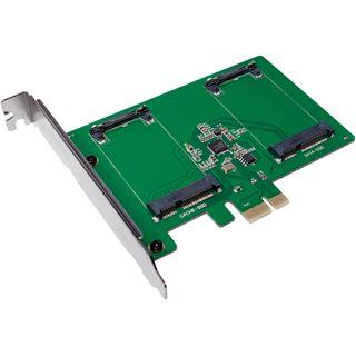 LogiLink PC0078 2 Port mSATA retail
