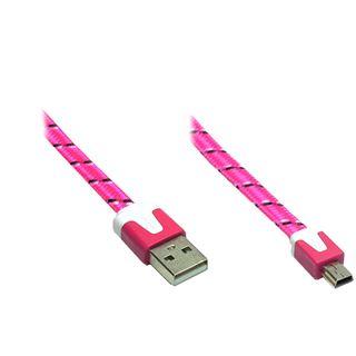2.00m Good Connections USB2.0 Anschlusskabel USB A Stecker auf USB