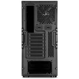 Sharkoon S28 Value Midi Tower ohne Netzteil schwarz