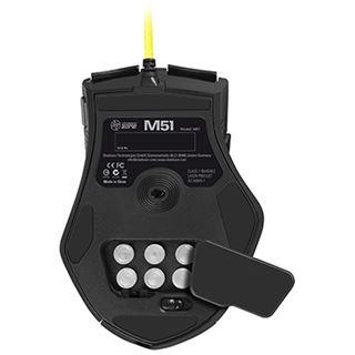 Sharkoon Shark Zone M51+ USB schwarz (kabelgebunden)