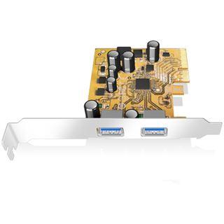 ICY BOX IB-U31-02 2 Port PCIe 2.0 x2 Low Profile retail