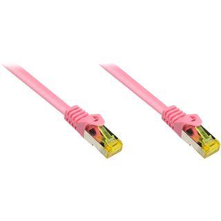 1.00m Good Connections Cat. 7 Rohkabel Patchkabel S/FTP PiMF RJ45