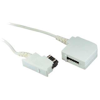 6.00m Good Connections Telefon Anschlusskabel TSS Stecker auf