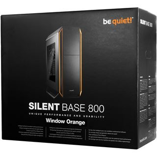 be quiet! Silent Base 800 gedämmt mit Sichtfenster Midi Tower