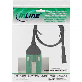 InLine Slotblech für SAS (SFF-8644) (27657B)