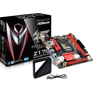 ASRock Fatal1ty Z170 Gaming-ITX/ac Intel Z170 So.1151 Dual Channel