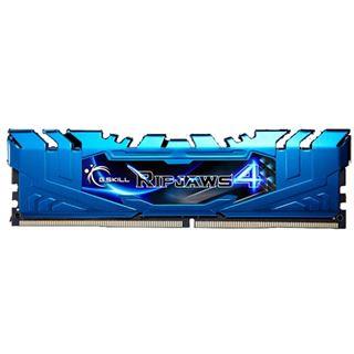 16GB G.Skill RipJaws 4 blau DDR4-3000 DIMM CL15 Dual Kit