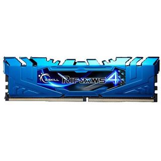 8GB G.Skill RipJaws 4 blau DDR4-3200 DIMM CL16 Dual Kit