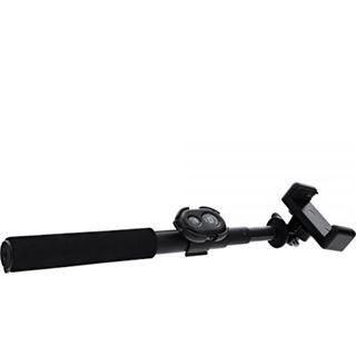 InLine Selfiestick für Digitalkameras und Videokameras schwarzes