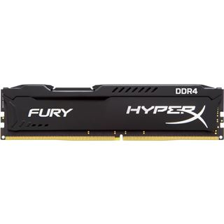 8GB HyperX FURY schwarz Dual Rank DDR4-2400 DIMM CL15 Single