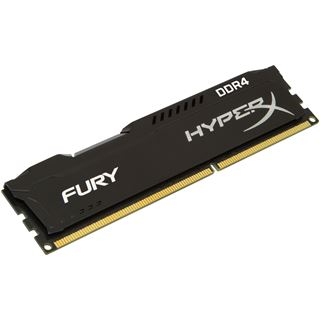 8GB HyperX FURY schwarz DDR4-2400 DIMM CL15 Dual Kit