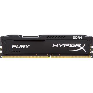 8GB HyperX FURY schwarz DDR4-2400 DIMM CL15 Dual Kit