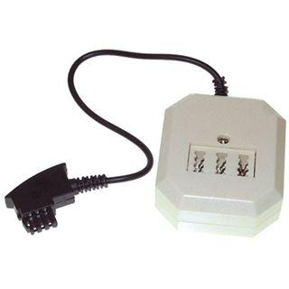 0.20m Good Connections Telefon Anschlusskabel F Stecker auf NFN