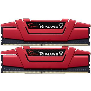 16GB G.Skill RipJaws V rot DDR4-3000 DIMM CL15 Dual Kit
