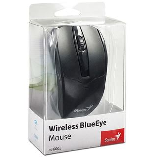 Genius NS-6005 BlueEye USB schwarz (kabellos)