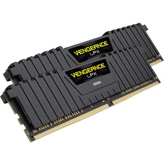 8GB Corsair Vengeance LPX schwarz DDR4-3000 DIMM CL15 Dual Kit