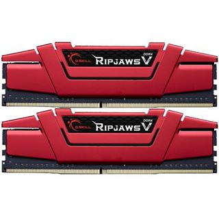 8GB G.Skill RipJaws V rot DDR4-3000 DIMM CL15 Dual Kit