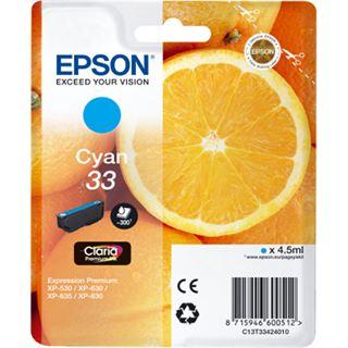 Epson Premium Ink 33 cyan