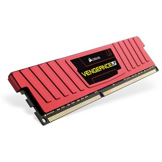4GB Corsair Vengeance LP rot DDR3L-1600 DIMM CL9 Single