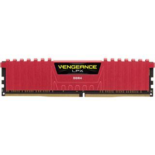 8GB Corsair Vengeance LPX rot DDR4-2666 DIMM CL16 Single