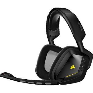 corsair void rgb wireless 7 1 gaming headset schwarz. Black Bedroom Furniture Sets. Home Design Ideas