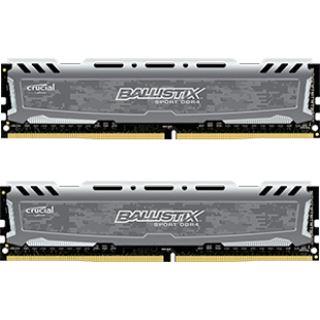 8GB Crucial Ballistix Sport LT grau DDR4-2400 DIMM CL16 Dual Kit