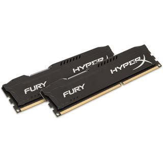 8GB HyperX FURY schwarz DDR3L-1600 DIMM CL10 Dual Kit