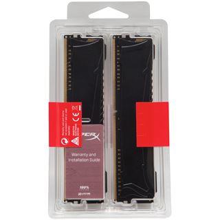 32GB Kingston HyperX Savage DDR4-2666 DIMM CL13 Quad Kit