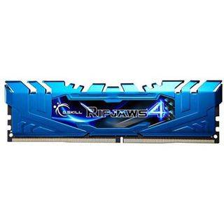 64GB G.Skill RipJaws 4 blau DDR4-2133 DIMM CL15 Octa Kit