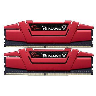 8GB G.Skill RipJaws V rot DDR4-2800 DIMM CL15 Dual Kit