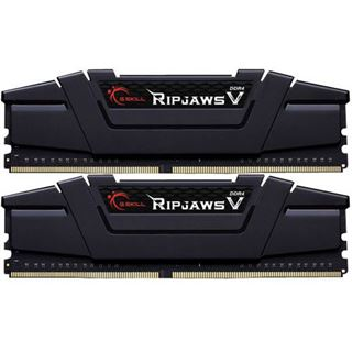 16GB G.Skill RipJaws V schwarz DDR4-3200 DIMM CL16 Dual Kit