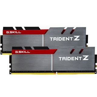 16GB G.Skill Trident Z silber/rot DDR4-2800 DIMM CL15 Dual Kit