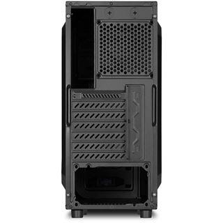 Sharkoon T3-S Midi Tower ohne Netzteil schwarz