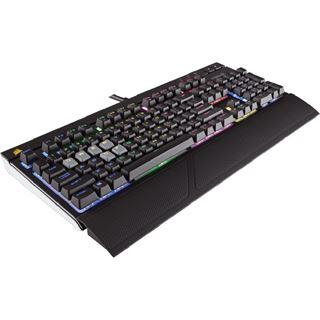 Corsair STRAFE CHERRY MX RGB Silent USB Deutsch schwarz