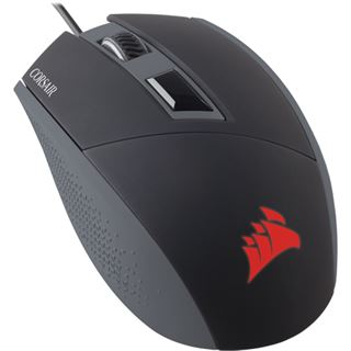 Corsair Katar USB schwarz/rot (kabelgebunden)