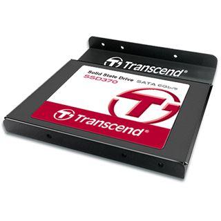 """128GB Transcend SSD370S 2.5"""" (6.4cm) SATA 6Gb/s MLC"""