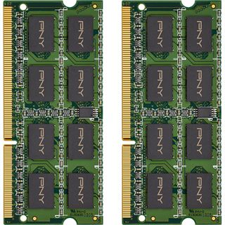 8GB PNY MN8GK2D31600-Z DDR3-1600 SO-DIMM CL11 Dual Kit