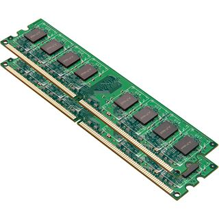 4GB PNY MD4GK2D2800 DDR2-800 DIMM CL9 Dual Kit