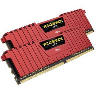 8GB Corsair Vengeance LPX rot DDR4-3200 DIMM CL16 Dual Kit