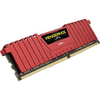 8GB Corsair Vengeance LPX rot DDR4-3000 DIMM CL15 Dual Kit