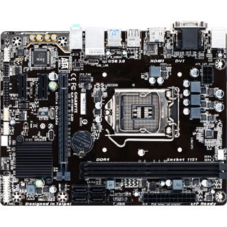 Gigabyte GA-H110M-S2H Intel H110 So.1151 Dual Channel DDR mATX Retail