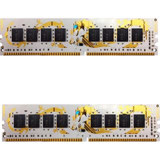 8GB GeIL white Dragon DDR4-2400 DIMM CL14 Dual Kit